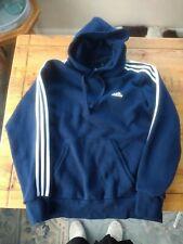 Mens Adidas Hooded Top, Dark Blue, Top Condition