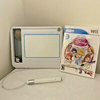 uDraw Nintendo Wii Drawing Tablet & Disney Princess Game Complete!