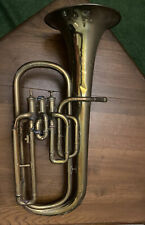 More details for boosey & co (1884 - 1885) antique euphonium,tuba serial number - 29797