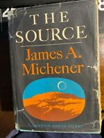 James A. Michener THE SOURCE  1st Edition 1st Printing