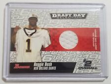 2006 Bowman Draft Day Selection Reggie Bush Rookie Jersey