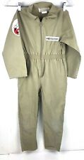 Ghostbusters Child's One-Piece Suit Costume Outfit With Power Plastic Pack