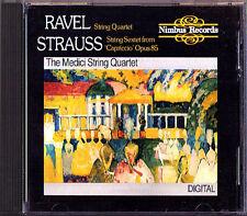 RAVEL String Quartet RICHARD STRAUSS Capriccio Sextet MEDICI CD Streichquartett