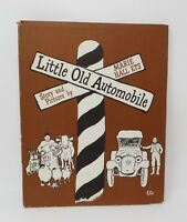 LITTLE OLD AUTOMOBILE Marie Hall Ets HB/DJ VGC Vintage Kids 1966