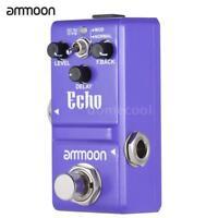 ammoon Nano Series Delay Guitar Effect Pedal True Bypass Aluminum Alloy Y3K6