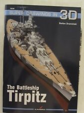 Kagero Book: The Battleship Tirpitz (Super Drawings in 3D)