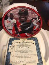 Ken Griffey Jr Cincinnati Reds Cincinnati Kid  Plate MLB Baseball