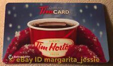 "TIM HORTONS GIFT CARD ""RED MITTENS"" CAFE & BAKE SHOP NO VALUE #6065 VL-11640 NEW"