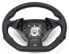 ABGEFLACHT Leder -Lederlenkrad BMW 5 Series E60, E61 Steering Wheel 6774456