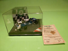 QUARTZO WC07 TYRRELL 003 WORLD CHAMPION 1971 - F1 JACKIE STEWART - 1:43 - NMIB