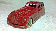 """Vintage 1936 Tootsietoy Jumbo Sedan 6"""" Original"""