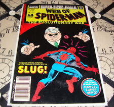 Web of Spider-Man Annual #4 (1988) Marvel Comic FN+ Condition
