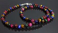 Tigers Eye Necklace Bracelet GEMSTONE Crystal  6mm
