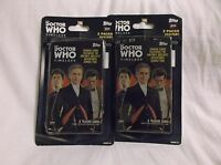 DOCTOR WHO TIMELESS TRADING CARD BLISTER PACKS X2.  4 PACKS TOTAL W/ 32 CARD
