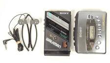 Sony Wm-F100Ii Fx451 Walkman Portable Cassette Player Am/Fm Radio Lot 2x As-Is