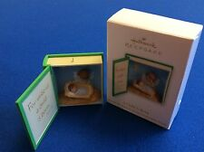 A Child Is Born - 2012 Hallmark Keepsake Christmas ornament in original box