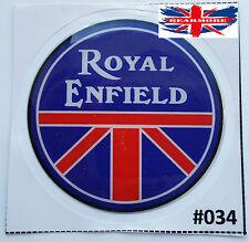 Nuevo Universal Royal Enfield Bala Clásico Con Logotipo Moto Pegatina @UK