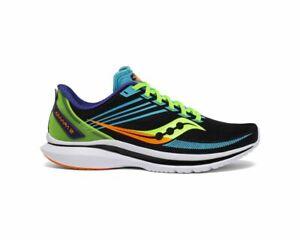 Saucony Men's Kinvara 12 Running Shoe 8 - 11 Sneaker Future Black Sneaker NIB