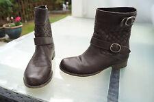 272d335aa69730 LIEBESKIND Damen Schuhe Boots Stiefel Stiefeletten Gr.37 braun weiches  Leder TOP