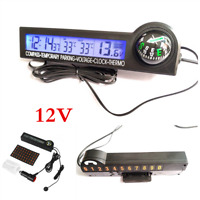LCD Digital Car Compass Clock/Thermometer/Voltage//Icing Alarm/Temporary Parking