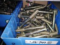 10 Sechskantschrauben mit Schaft DIN931 M16x140 %Mehrfachkauf%% gelb verzinkt