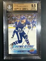 2016-17 Upper Deck William Nylander Young Guns Canvas Rookie BGS 9.5