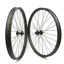 29er Mountain Bike Carbon Wheelset 50mm Width 25mm Depth with boost hub 110/148