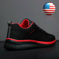 Mens Running Shoes Athletic Fashion Casual Tennis Non-slip Walking Sneakers Gym