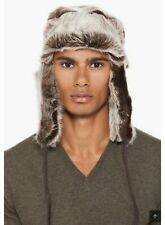 Paul Smith Brown Fur Trapper Hat
