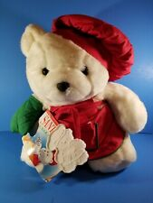 1991 Santa Bear with Collector Bag