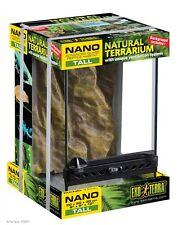 """Exo-Terra Terrarium Nano Reptile Tank Tall 8"""" x 8"""" x 12""""  PT-2601"""