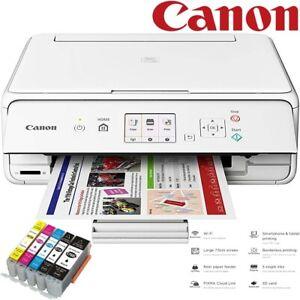 Canon PIXMA TS5051 Wireless All-in-One Wi-Fi Inkjet Photo Printer, XL Inks