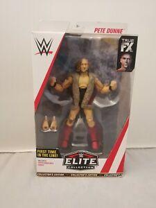 WWE Elite Pete Dunne Collectors Edition BNIB Mattel First In Line