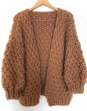 Simone Her Cardigan sweater chunky mr mittens we are knitters wool and the gang