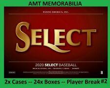 Michael Chavis Red Sox 2020 Panini Select 2X Case 24x BOX PLAYER BREAK #2