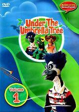 NEW CHILDREN  DVD // UNDER THE UMBRELLA TREE // VOLUME 1 // 77 min // HOLLY
