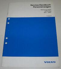 Werkstatthandbuch Volvo 850 SIPS - Bag Seiten Airbag Stand Juni 1994