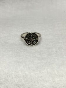 JAMES AVERY Compass Ring | Size 6.5 | 925 Silver