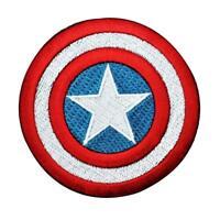 CAPTAIN AMERICA SUPERHERO SUPER HERO MARVEL COMICS EMBROIDERY IRON ON PATCH