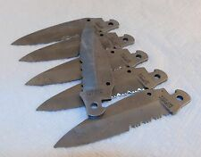 Lot of 18 Schrade SW7 S516 Stainless Steel Surplus Folding Knife Blade NEW USA