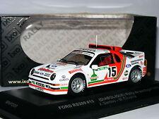 IXO/Minitec MNP209 Ford RS200 Diabolique 1986 Rallye De Portugal #15 1/43