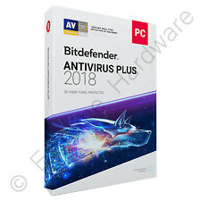 Bitdefender Antivirus Plus 2018 3 PCs / Users 1 Year Licence Activation Key