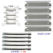 Brinkmann 810-1575-W Gas Grill Replacement Burners,crossover channel,Heat Plate