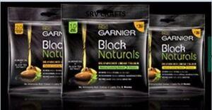 GARNIER Black Naturals Hair Colour Oil Enriched Cream Almond Unisex NO AMMONIA