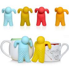Teezange Teefilter Teesieb Tassensieb Küchenhelfer Tee Männchen Teeei Hochwertig