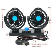 Portable! Car Fan For Car Alternative 12V Plug In Vehicle Fan Dash Mount
