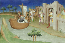 """oil painting on canvas""""elephants and camels arriving at Hormuz """"N13949"""