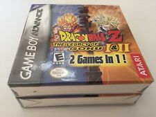 DragonBall Z Dragon Ball The Legacy of Goku I & II - Game Boy Advance NEW SEALED