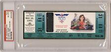 1991  Indianapolis Indy 500 Ticket PSA