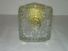 Vintage Avon Personally Yours Meadow Morn Frangrance Candle Triangle Glass